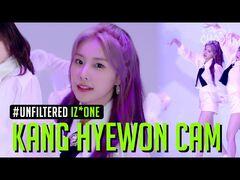 -UNFILTERED CAM- IZ*ONE Kang Hyewon(강혜원) '환상동화(Secret Story of the Swan)' 4K - BE ORIGINAL