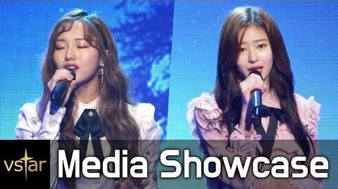 Kriesha_Chu_&_Minjoo(크리샤츄_&_민주)_'Falling_Star'(폴링스타)_@Media_showcase