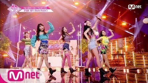 ENG_sub_PRODUCE48_단독_10회_♬Rollin'Rollin'ㅣ'두근_국.프_하트'_러브포션_@콘셉트_평가_180817_EP.10