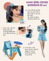 IZONE Oneiric Diary Lookbook Yujin