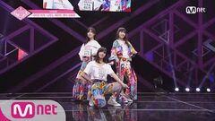 PRODUCE48 단독 풀버전 AKB48 시타오 미우, 나가노 세리카, 혼다 히토미 ♬미스터 @기획사별 퍼포먼스 180622 EP