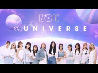 -UNIVERSE- IZ*ONEのユニバースにようこそ!(-消える 解説映像)