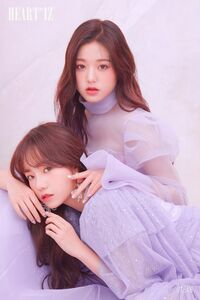 Yuri & Wonyoung HEART*IZ Violeta ver