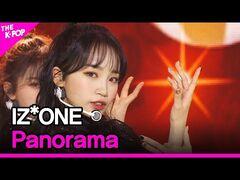 IZ*ONE, Panorama (아이즈원, Panorama) -THE SHOW 201215-