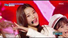 HOT Debut IZ*ONE - La Vie en Rose , 아이즈원 - 라비앙로즈 Show Music core 20181103