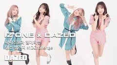 DAZED KOREA IZ*ONE x DAZED KOREA Yena and Yuri