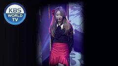 FOCUSED IZ*ONE's LEE CHAE YEON - La Vie en Rose Music Bank 2018.11