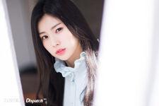 Naver x Dispatch Hyewon 1