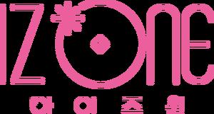 IZ*ONE Korean Logo