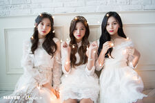 Naver x Dispatch Wonyoung with Umji and Arin 11
