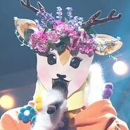 Flower Deer Mask