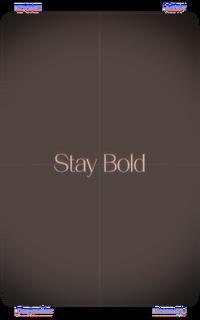 Scene 3 Stay Bold Film