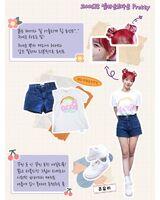 IZONE Oneiric Diary Lookbook Yuri