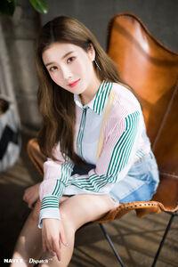 Naver x Dispatch Eunbi 4