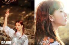 Eunbi and Sakura Dazed Korea