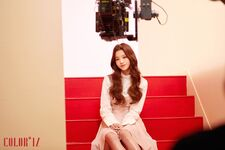 MV Behind the scenes Wonyoung 2