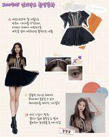IZONE Oneiric Diary Lookbook Minju