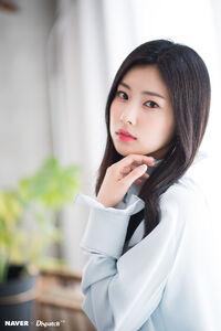 Naver x Dispatch Hyewon 2