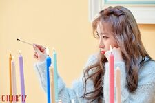 MV Behind the scenes Chaeyeon 1