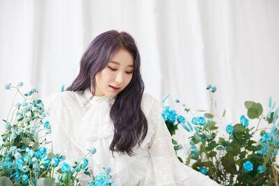 BTS Photo Shoot Chaeyeon