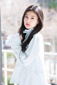 Naver x Dispatch Hyewon 5