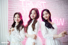 Naver x Dispatch Wonyoung with Umji and Arin 4