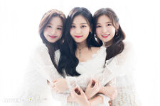 Naver x Dispatch Wonyoung with Umji and Arin 9