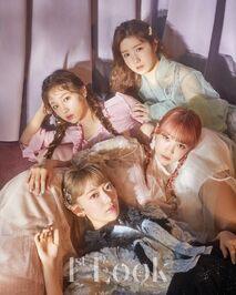 1st Look Sakura Yena Chaewon Hitomi