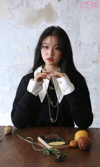 Wonyoung Marie Claire Behind5