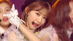 IZONE - La Vie en Rose SBS Inkigayo Ep 981