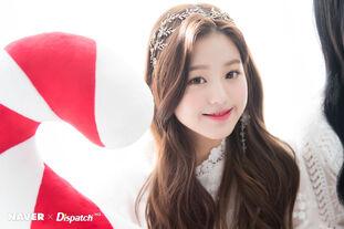 Naver x Dispatch Maknae Wonyoung 2