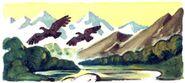 Dolina gigantskih orlov VL
