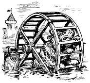 Шестилапый в колесе. Илл. Александра Коваля