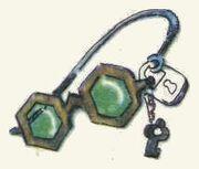 Зелёные очки. Илл. Леонида Владимирского