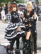 Harajuku Girls by fatbloaterdave