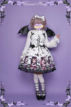 Diamond-honey-halloween-theme-cemetery-carnival-gothic-lolita-jsk-9.jpg