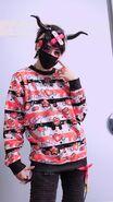 Three Eyed Ghoul Boy (yami kawaii fashion)