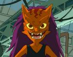 Paco Wearing Orenji's Mask