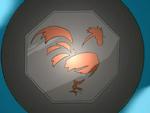 Eggbert's Eye Rooster Talisman