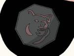 Mordecai's Eye Pig Talisman
