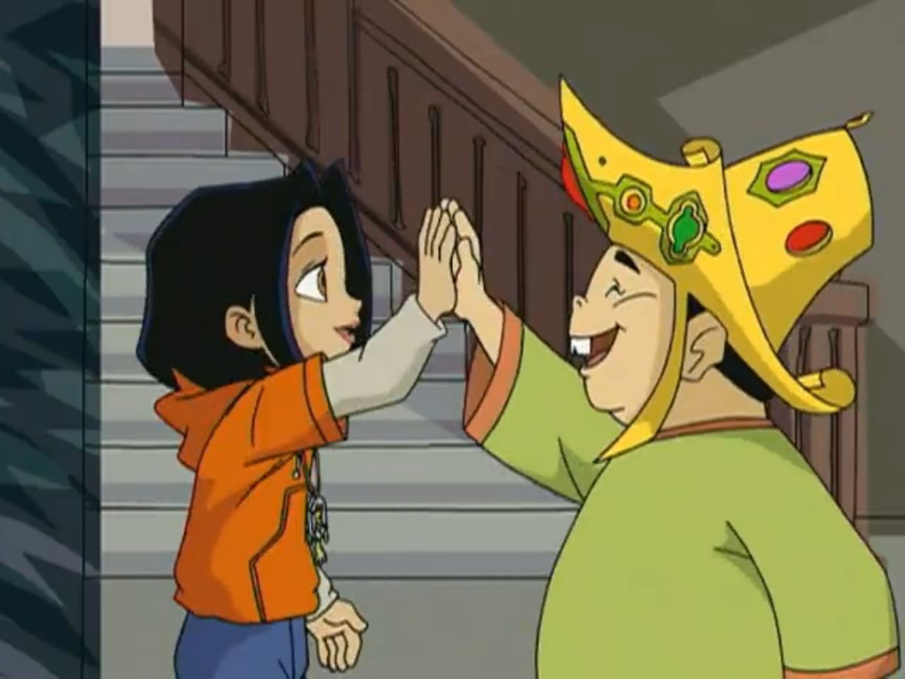 The King and Jade
