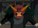 Chow Wearing Rairakku's Mask