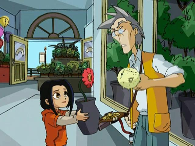 Jackie Chan Adventures S05 03 Black And White And Chi All Over