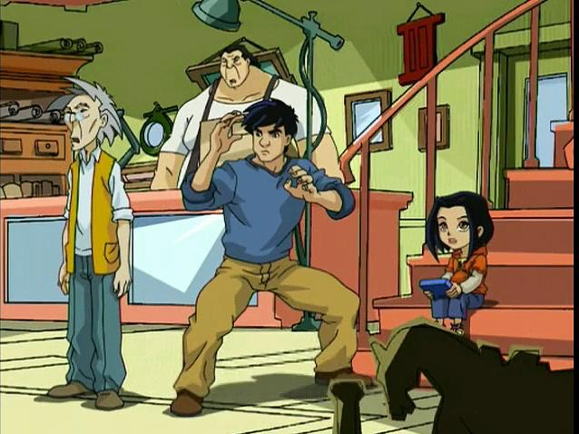 Jackie Chan Adventures S04 09 The Good Guys