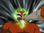 Tarakudo Wearing His Own Mask