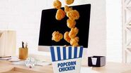 Popcorn Chicken Combo Classic & Spicy Jack in the Box