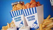 Popcorn Chicken Combo Classic & Spicy $5