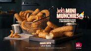 Mini Munchies Mozzarella Sticks Jack in the Box