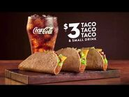 Jack in the Box $3 Taco Deal Commercial — -TacoObsession