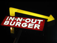In n-out burger sign